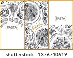 template design with graphic... | Shutterstock .eps vector #1376710619