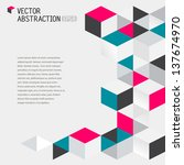 abstract illustration with... | Shutterstock .eps vector #137674970
