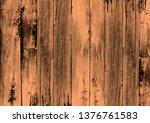 the dark brown wood texture... | Shutterstock . vector #1376761583