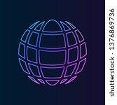 globe symbol sign nolan icon....