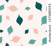 seamless repeating pattern with ... | Shutterstock .eps vector #1376889293
