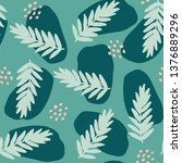 seamless repeating pattern with ... | Shutterstock .eps vector #1376889296
