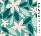 seamless repeating pattern with ... | Shutterstock .eps vector #1376889299