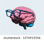 color retro pop art engraving... | Shutterstock .eps vector #1376915546