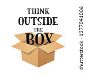 """hand sketched """"think outside... 