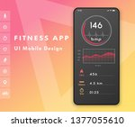 fitness cardio app. heart rate...