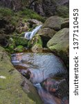 Small photo of small cascade of middle black clough brook