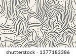 vector seamless pattern. modern ... | Shutterstock .eps vector #1377183386