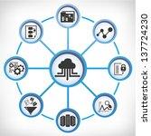 big data  data analytics | Shutterstock .eps vector #137724230