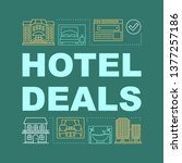 hotel deals word concepts...