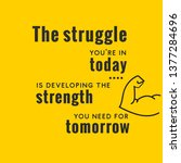 inspiring creative motivation... | Shutterstock .eps vector #1377284696