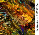 Art Colorful Fractal Abstract...