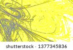 fantasy chaotic colorful... | Shutterstock . vector #1377345836