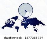 moldova detailed map... | Shutterstock .eps vector #1377385739