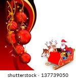 illustration of santa claus | Shutterstock . vector #137739050