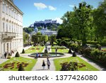salzburg austria may 2nd 2017...   Shutterstock . vector #1377426080