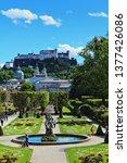salzburg austria may 2nd 2017...   Shutterstock . vector #1377426086