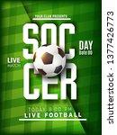 illustration of football world...   Shutterstock .eps vector #1377426773