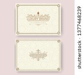invitation  business card or... | Shutterstock .eps vector #1377468239