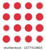 promo sale starburst  special...   Shutterstock .eps vector #1377513803
