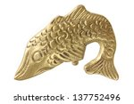 Fish Ornament On White...
