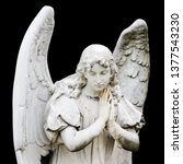 Guardian Angel Sculpture With...