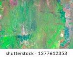fluid art  marbled effect....   Shutterstock . vector #1377612353