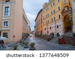 rome  italy   april 3  2019 ... | Shutterstock . vector #1377648509