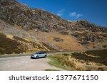 skye  scotland   april 9  2019  ...   Shutterstock . vector #1377671150