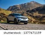 skye  scotland   april 9  2019  ...   Shutterstock . vector #1377671159