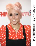 Small photo of Amelia Lily arriving for the FHM 100 Sexiest Women in the World 2013 party at the Sanderson Hotel, London. 01/05/2013
