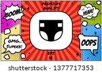 nappy icon symbol. graphic... | Shutterstock .eps vector #1377717353