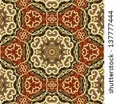 raster seamless floral pattern... | Shutterstock . vector #137777444