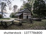 Old Historic Cabin In The Woods ...