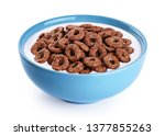 Bowl With Chocolate Corn Rings  ...