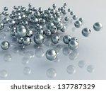 metal balls   Shutterstock . vector #137787329