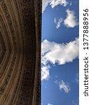 westminster abbey entrance... | Shutterstock . vector #1377888956