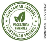 vegetarian friendly icon | Shutterstock .eps vector #1377940169