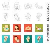 vector illustration of hospital ... | Shutterstock .eps vector #1377941570