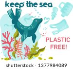 poster or banner consisting of... | Shutterstock .eps vector #1377984089