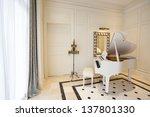 White Piano In White Room