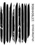 dry brush strokes. black... | Shutterstock .eps vector #1378044806