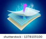 moisture and odor absorbing... | Shutterstock .eps vector #1378105100