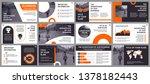 business presentation slides... | Shutterstock .eps vector #1378182443