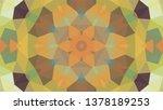 geometric design  mosaic of a... | Shutterstock .eps vector #1378189253