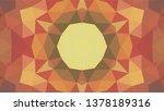 geometric design  mosaic of a... | Shutterstock .eps vector #1378189316