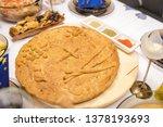 homemade christmas bread....   Shutterstock . vector #1378193693