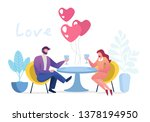 happy valentine day greeting... | Shutterstock .eps vector #1378194950