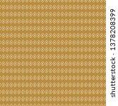 mustard yellow simple rhombuses ...   Shutterstock .eps vector #1378208399