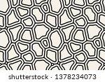 vector seamless pattern. modern ... | Shutterstock .eps vector #1378234073